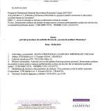 """Anunț privind procedura de achiziție directă de """"servicii de auditare financiară """""""