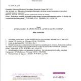 """Anunț privind procedura de achiziție directă de """"servicii de expertiză contabilă """""""